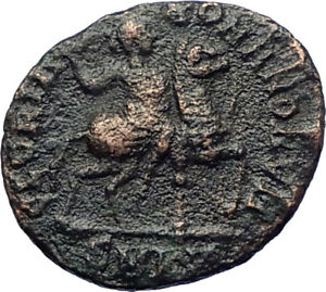 THEODOSIUS-I-the-Great-on-HORSE-393AD-Authentic-Ancient-Roman-Coin-i73444