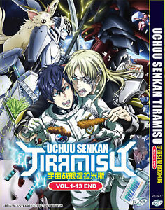 DVD-Anime-Uchuu-Senkan-Tiramisu-Vol-1-13-End-English-Version-Free-Shipping