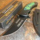 TAC-FORCE BLACK MARIJUANA HANDLE Spring Assisted Open Folding Pocket Knife!