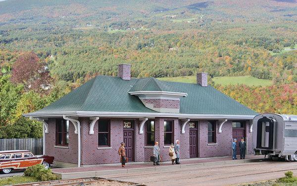 H0 traccia -- Kit stazione ferroviaria Pella 4054 Depot -- 4054 Pella NUOVO 654c2e