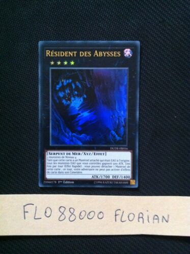 YUGIOH Résident des Abysses Abyss Dweller VF//Ultra Rare DUDE-FR016
