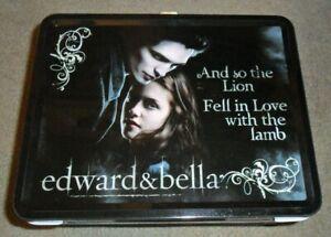 NEW-NECA-Twilight-Saga-Edward-amp-Bella-Lunch-Box-Thermos-Set-Lion-amp-Lamb