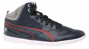 6ad1456063d8 NIB Men s Puma BMW MS MCH MID NM CAT Kart Prime Shoes Navy 305655 02 ...