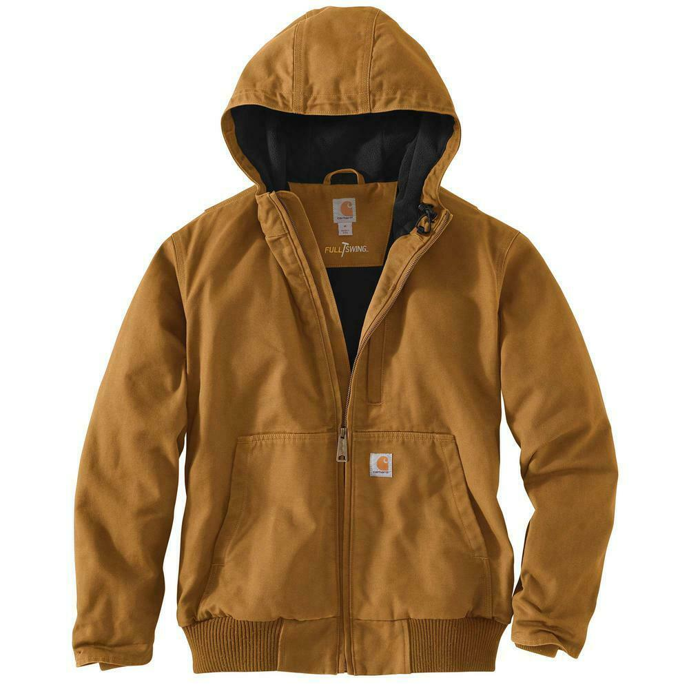 Carhartt Men's Regular X Large Carhartt Brown Cotton Full Swing Armstrong Active