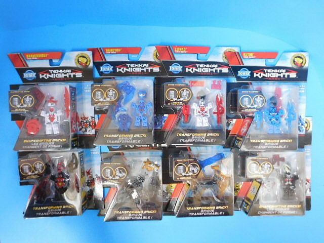 Ionix Tenkai Knights Lot of 8    Figures   s 10001 thru 10008 Set Bravenwolf 1784e3