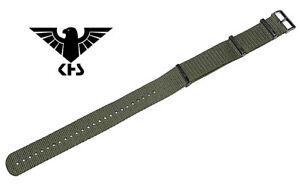 KHS Tactical Watches Ersatzbänder Nato Armband grün Nylon PVD Black KHS.EBNO.24 - Falkenhain, Deutschland - KHS Tactical Watches Ersatzbänder Nato Armband grün Nylon PVD Black KHS.EBNO.24 - Falkenhain, Deutschland