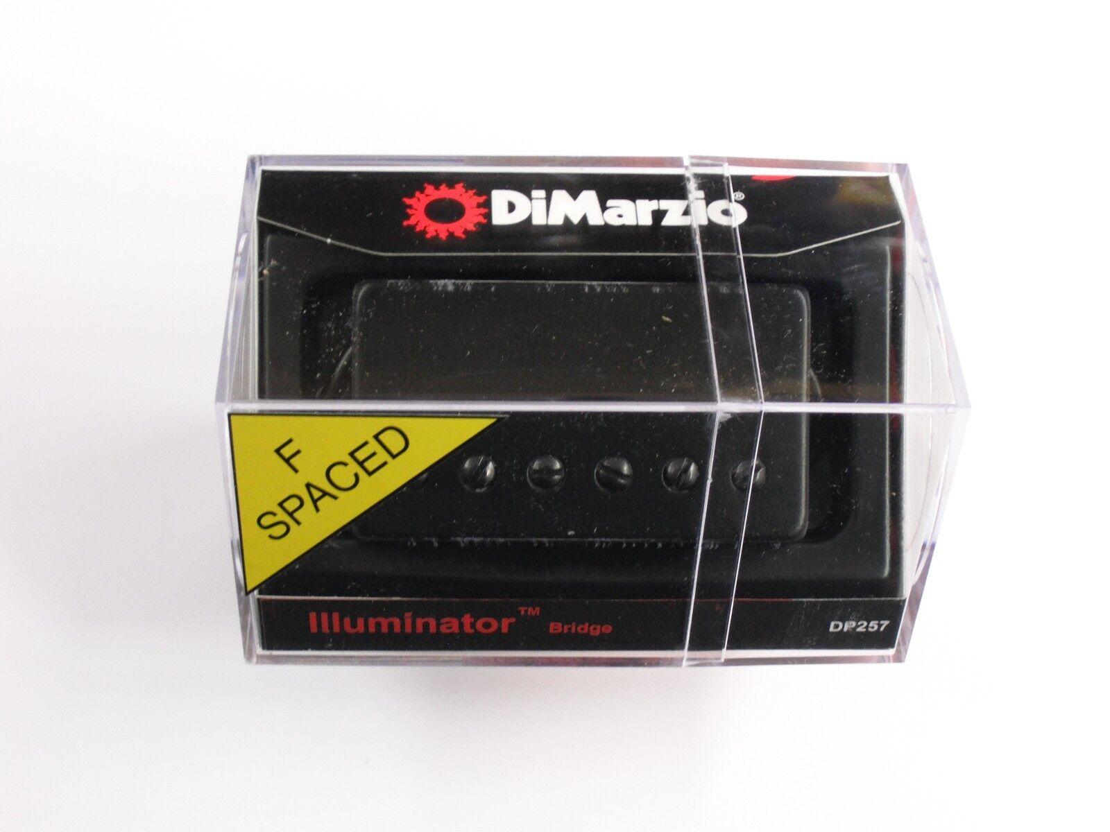 Dimarzio F-espaciados F-espaciados F-espaciados Iluminador Humbucker Puente Con Cubierta Negra DP 257  punto de venta