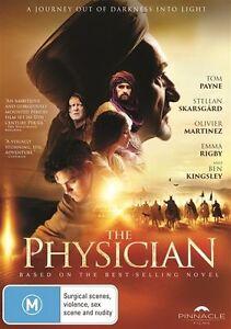 The-Physician-DVD-2016-Ben-Kingsley-Brand-New-amp-Sealed-Region-4