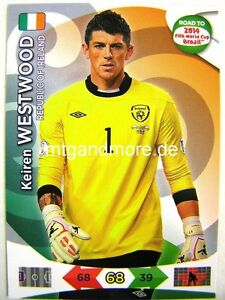 Adrenalyn-XL-Keiren-Westwood-Irland-Road-to-2014-FIFA-World-Cup-Brazil