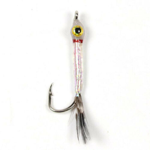 10PCS//Set #6 #8 Small Minnow Fly Trout Fly Fishing Flies Artificial Bait