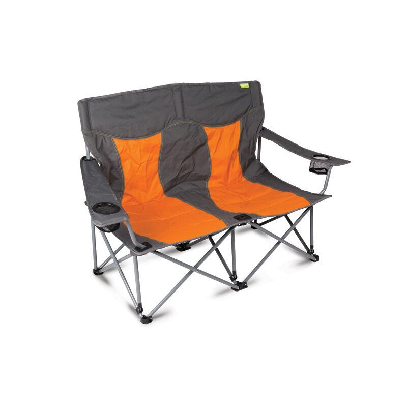Lofa zusammenfaltbar leicht Zelten doppel Sofa 2 Seater gebrannt Orange
