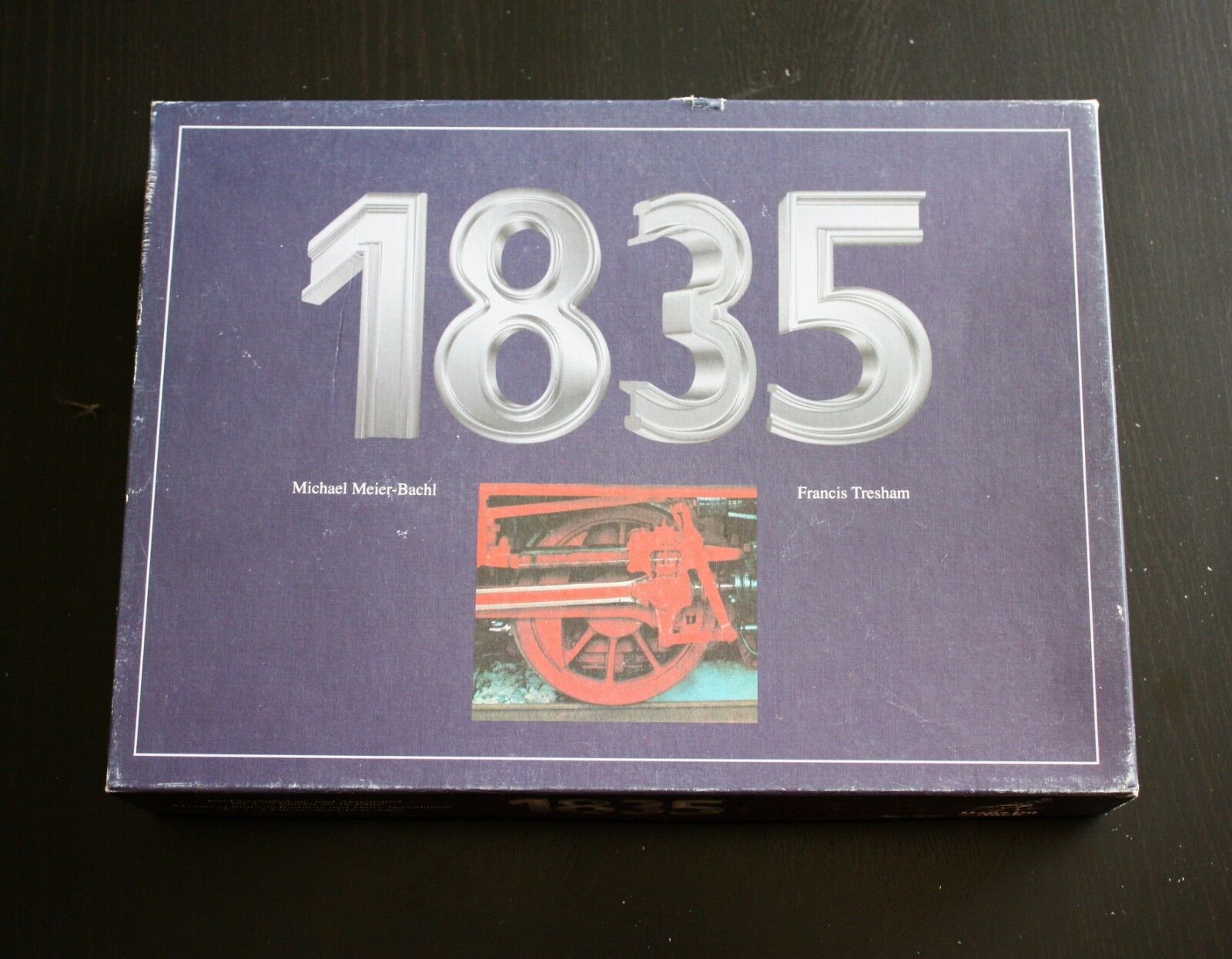 1835 Eisenbahnspiel von HANS IM GLÜCK
