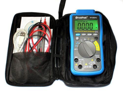 USB Digital Multimeter Batterietester Win10 Software Kapazität Temperatur