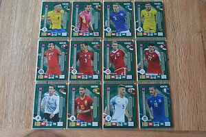 Panini-Road-to-Russia-2018-Adrenalyn-Trading-Cards-Defensive-Rock-aussuchen