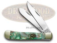 Buck Creek Mozaic Celluloid Trapper Pocket Knife Knives on Sale