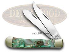 BUCK CREEK Mozaic Celluloid Trapper Pocket Knife Knives