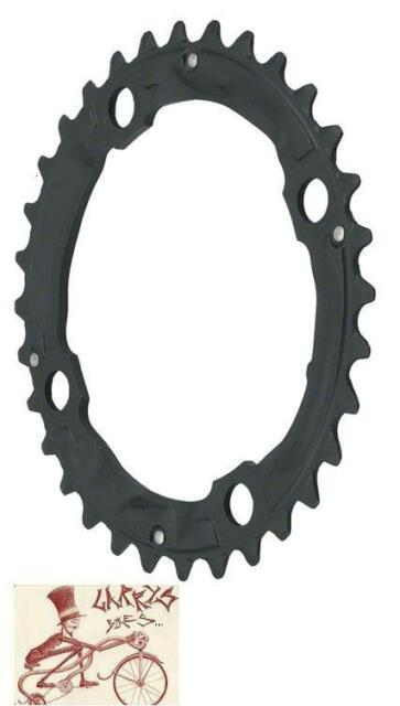 SHIMANO XT M760 32T X 104MM 9-SPEED BLACK BICYCLE CHAINRING
