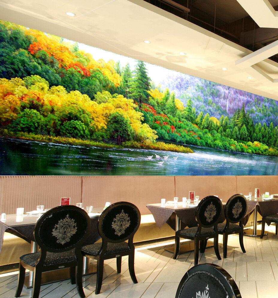 3D Grünness Forest Painted 548 Wall Paper Wall Print Decal Wall AJ WALLPAPER CA