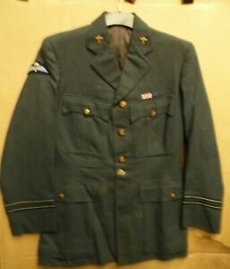 Gen British Royal Airforce Officers Dress Uniform Jacket By Austin Reed 1954 Ebay