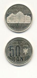 Romania-Romania-50-Bani-2015-UNC-Special-Coin-10-years-Lei-denomination