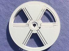 + Superb Photax White Super 8mm Plastic Reel 600ft Film Minimum Capacity +