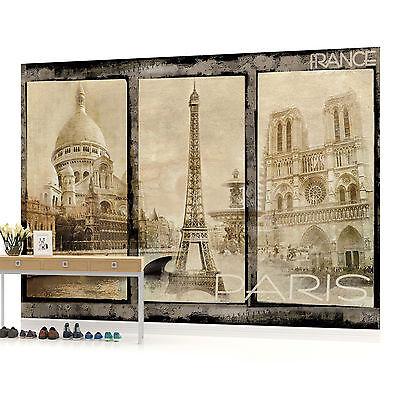 WALL MURAL PHOTO WALLPAPER PICTURE (21VE) Vintage Paris