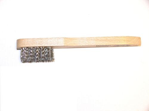 Drahtbürste Messing Zündkerzenbürste Stahl VA Polyamid Bürste Bronze