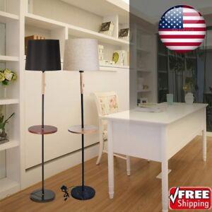 Details about Modern Living Room Study Bedroom Floor Lamp Storage Tray  Floor Lamp Table Lamp_K