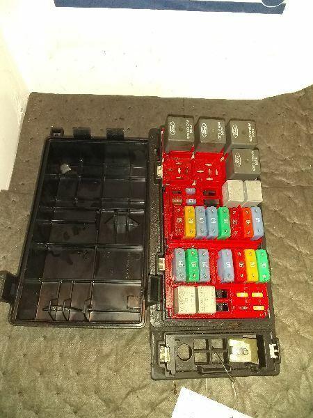 Fuse Box Engine Fits 05-08 FORD E150 VAN 170825 | eBay