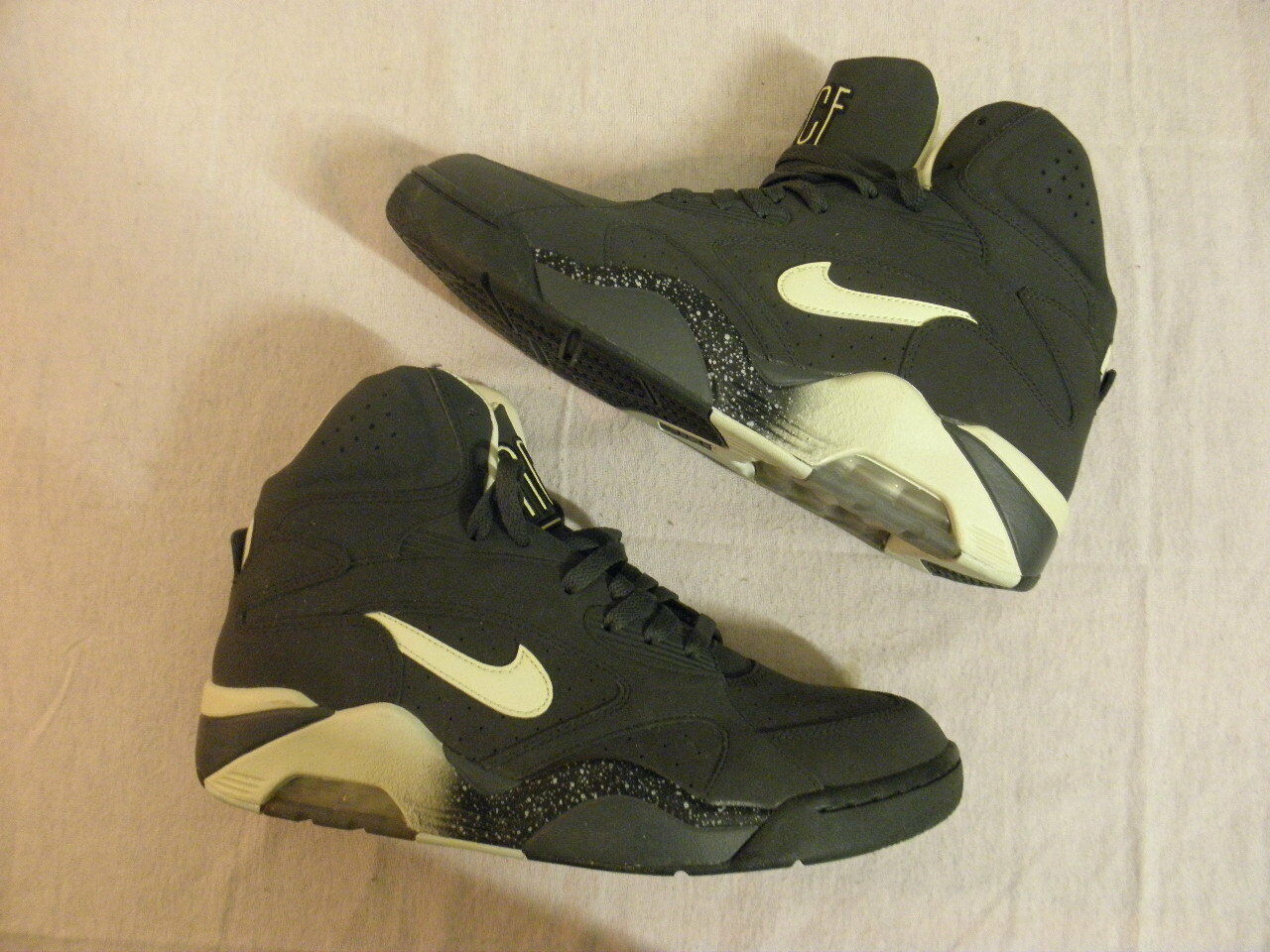 Nike Air Force 180 Mid High David Robinson Glow Dark HOH House of Hoops 10.5 DS