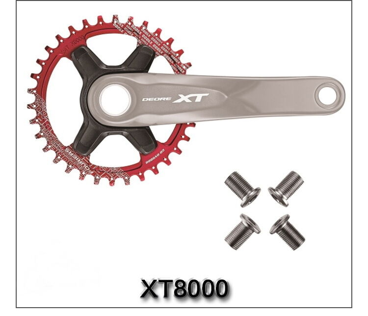 FOURIERS Chainring Mountain Bike MTB Bicycle XT M8000 11S 32T 34T 36T Chainrueda