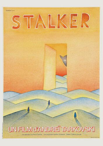 Movie Cinema Poster Art Print STALKER 1979 /'Cat/' Andrei Tarkovsky