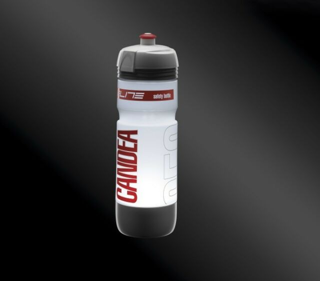 ELITE Candea 650 ml Brillante LED Botella De Agua Para Bicicleta sin BPA