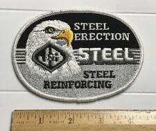J&B Steel Erection Reinforcing Bald Eagle Logo West Chester OH Embroidered Patch