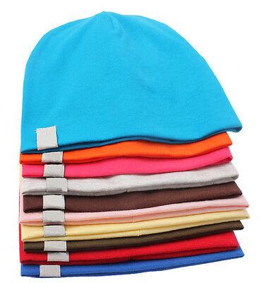 Unisex Cotton Beanie Hat For New Born Baby Boy Girl Soft Toddler Cap Kid Child