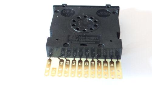 Hartmann dps9-141-ak2 BCD PRINT DIP switches Arduino Model Making