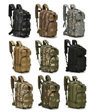 Outdoor Large Bag Travel Hike Camping Military Rucksacks Backpack Tactical LS6
