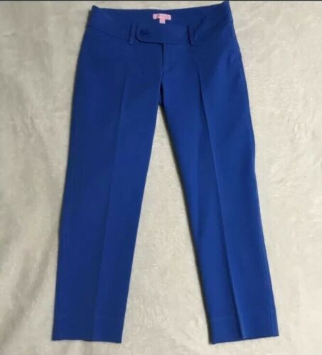 lilly pulitzer capris Women's Size 10 Blue Luxury