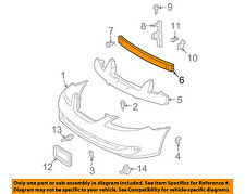 New TO1006195 Front Bumper Reinforcement Bar for Toyota Solara 2004-2008