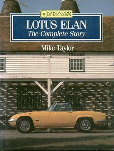 Details about LOTUS ELAN S1 S2 S3 S4 +2 M100 ( 1962 - 1990 ) DESIGN &  PRODUCTION HISTORY BOOK