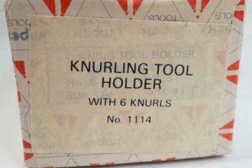 NOS Impex Tools 3 Way Knurling Tool Holder for Colchester South Bend Atlas Lathe