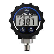 Eitech Pg 30 Blue Digital Low Pressure Gauge For Hvac Refrigerant Backlight