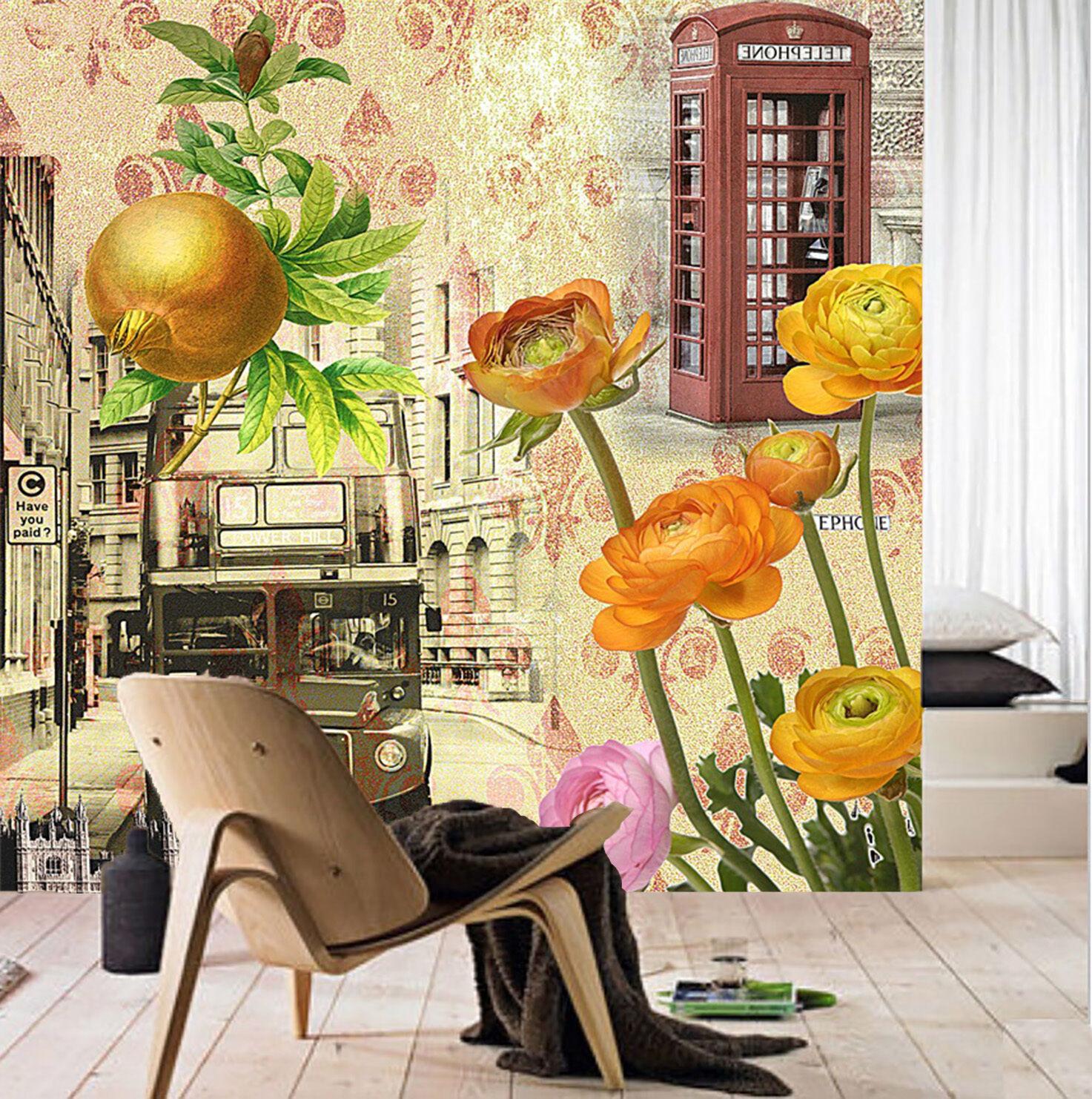 3D Tulipano 55 Parete Murale Foto Carta da parati immagine sfondo muro stampa