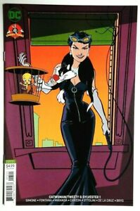 CATWOMAN-TWEETY-amp-SYLVESTER-1-VARIANT-COVER-DC-COMICS