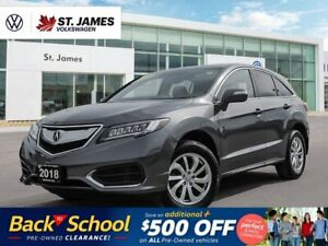 2018 Acura RDX Tech, ONE OWNER, PUSH TO START, POWER SUNROOF