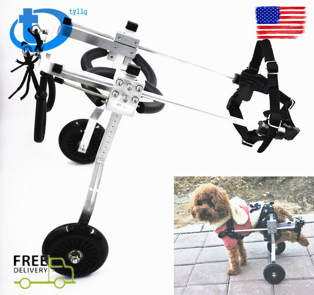 3 types of stainless steel pet   dog wheelchair disabled hind legs pet   dog US