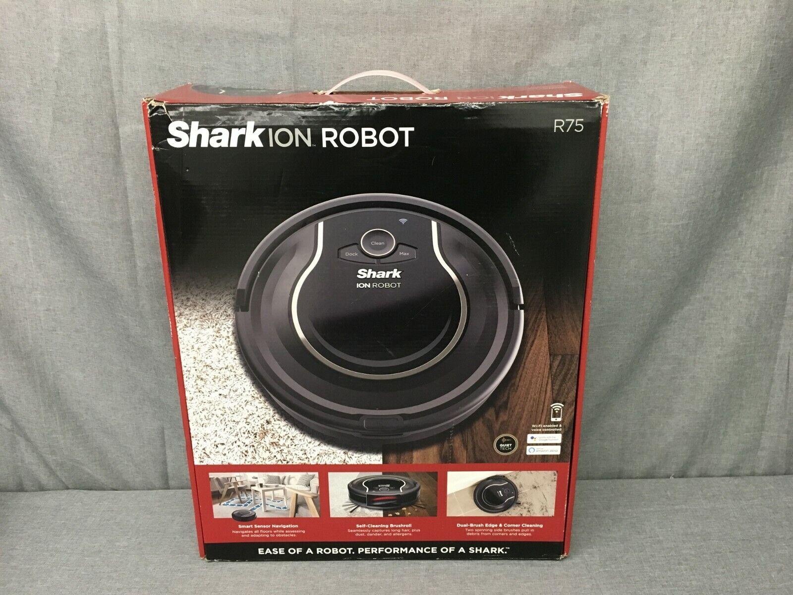NEW, SHARK ION R75 ROBOT VACUUM CLEARER-