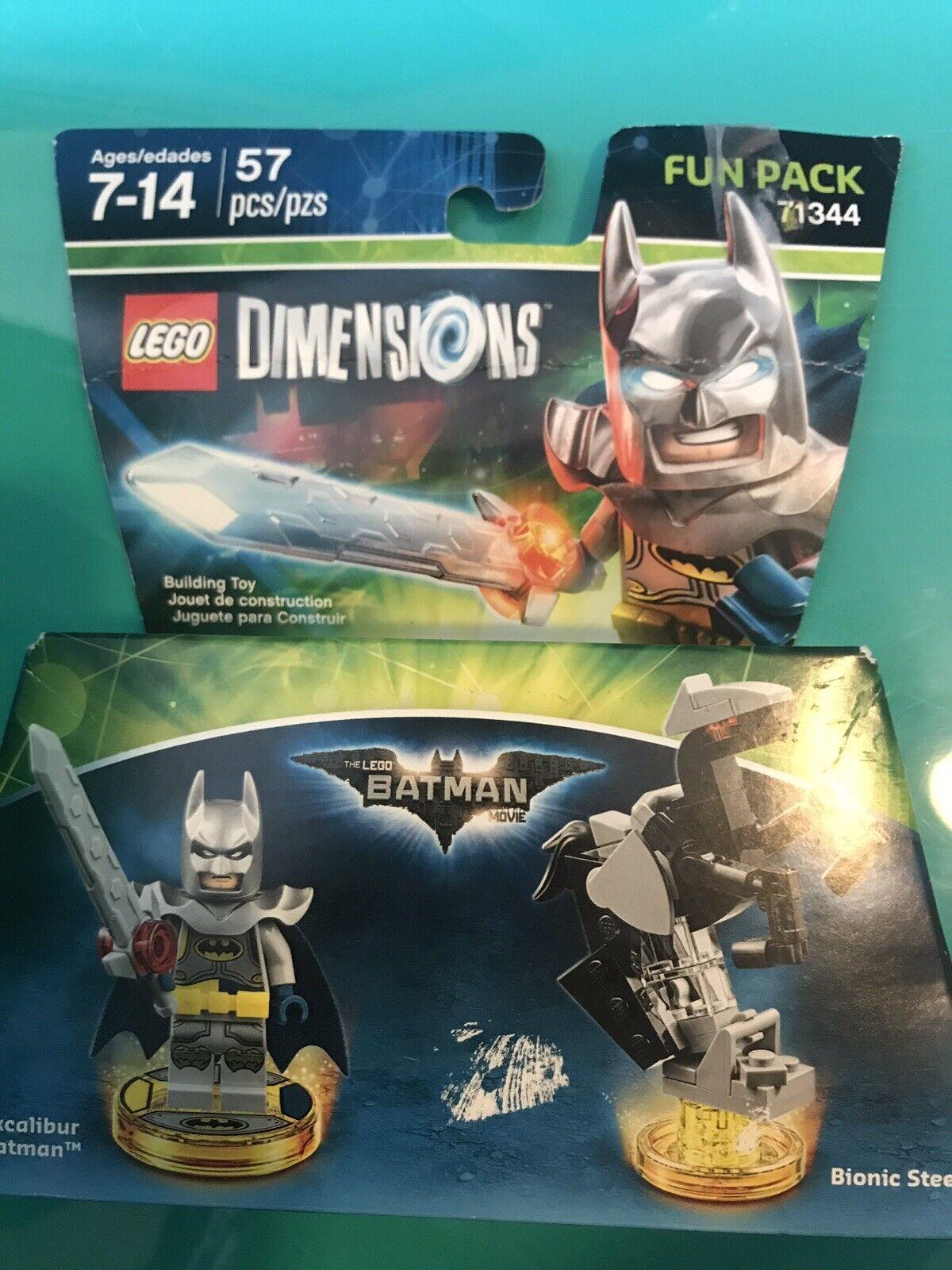 LEGO Dimensions Wildstyle Gandalf Batman movie minifigure batmobile sealed bag