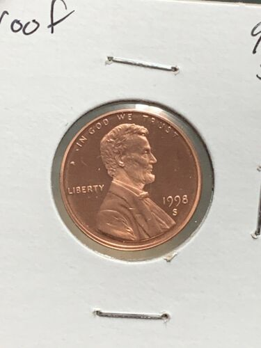 1998 S Proof Lincoln Memorial Penny