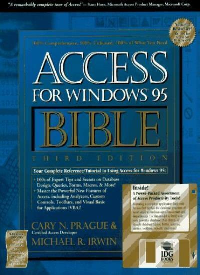 Access for Windows '95 Bible,Prague